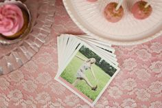Glam Graduation Party Ideas - personalized photo napkins from #PearTreeGreetings