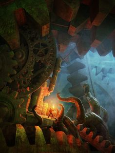 The Journey by Andrzej Sykut, via Behance