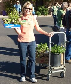 Master Gardener Monica Gillespie had a great time at last year's Fall Garden Festival. Once again, the festival will feature plant & rummage sales, how-to gardening workshops, and the first Home Gardeners Do It With Plants contest.
