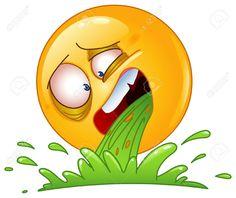 Illustration about Design of a vomiting emoticon. Illustration of gross, gastroenteritis, emoticon - 33108867 Smiley Emoji, Images Emoji, Emoji Pictures, Emoticon Faces, Emoji Keyboard, Emoji Symbols, Emoji Love, Funny Emoji, Humor