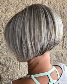 99 Amazing Stacked Bob Haircuts with Bangs In 50 Creative Stacked Bob Haircut Ideas, 10 Latest Inverted Bob Haircuts Stacked Bob Hairstyles with Bangs for Women Bob Haircuts with Bangs Best Shaggy Stacked Bob Awesome. Short Stacked Bob Haircuts, Short Stacked Bobs, Bob Hairstyles For Thick, Short Hair Cuts, Short Hair Styles, Inverted Bob, Layered Haircuts, Medium Hairstyles, Short Stacked Wedge Haircut