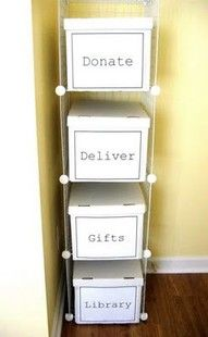 perfect for mudroom. Cardboard would never survive in our house though. . .