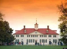 Mount Vernon, Virginia--George Washington's home was a revelation to me and one of my favorite places on earth.  Maybe because no one was there when I visited, but the calm serenity gave me a clear understanding of the refuge it must have been for our founding father.