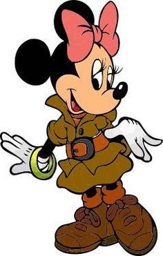 Totens - Displays - Mickey Safari Minnie Mouse Clipart, Minnie Mouse Images, Mickey Mouse Pictures, Mickey Mouse Art, Mickey Mouse Wallpaper, Mickey Mouse And Friends, Kids Cartoon Characters, Walt Disney Characters, Cartoon Kids