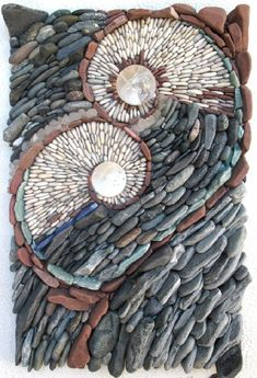 Mosaic of natural stone by Canadian artists Naomi Zettl & Andreas Kunert Best Picture For Stone interior For Your Taste You are looking for something, and it is going to tell you exactly what you are Mosaic Walkway, Mosaic Rocks, Pebble Mosaic, Mosaic Wall Art, Stone Mosaic, Mosaic Glass, Mosaic Tiles, Rock Mosaic, Mosaic Mirrors