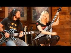Emily Hastings: with Warleyson Almeida - play Highway Star on a Wylde Audio Warhammer and Wylde Audio Viking!   Warleyson Almeida and Emily Hastings play Highway Star by Deep Purple heavy style on a Wylde Audio Warhammer and Wylde Audio Viking! Thank you SO MUCH Guitar Center and Zakk Wylde for giving us the opportunity to travel to LA and be part of the amazing Masterclass. We hope you guys like it !#zakkwylde #GuitarCenter #wyldeaudioguitars #wyldeaudio #emg #EMG #wyldeaudiowarhammer…