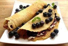 lindastuhaug - lidenskap for sunn mat og trening Pancakes, Food And Drink, Bacon, Breakfast, Ethnic Recipes, Morning Coffee, Pancake, Pork Belly, Crepes