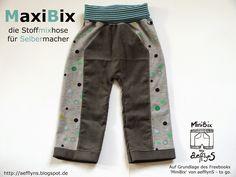 aefflynS - to go: MiniBix goes MaxiBix - Freebook für SelberMacher 68-134 nähen