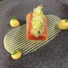 Scottish salmon fennel and lemon by Arnaud Bignon   FOUR Magazine