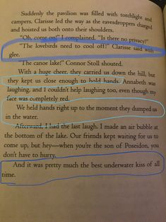 Underwater Kiss, Percabeth, Percy Jackson, In This Moment, Sayings, Life, Lyrics, Quotations, Idioms