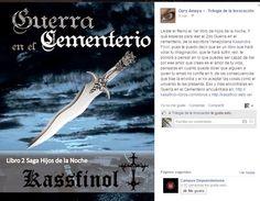 Kassfinol: 1ra reseña del libro Guerra en el Cementerio