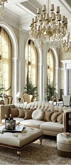 I normally do not care much for formal rooms because they are too ornate, but this one is done well! not over done.