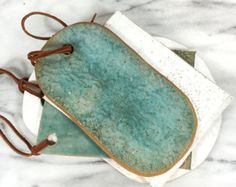 Set of two ceramic cheese board ceramic by OritCreativeWorkshop