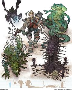 Gamma World Monsters 5 by MikeFaille on DeviantArt