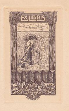 exlibris made by André Vlaanderen
