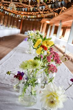 simple barn wedding