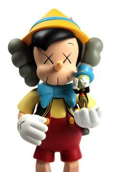 Kaws x Pinocchio  Jiminy #art