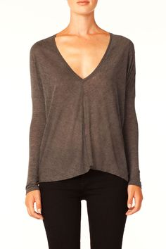 seamed front top.