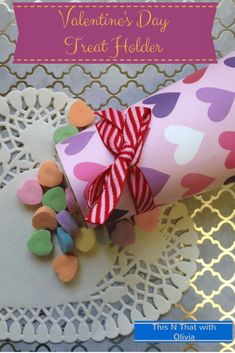 Here's an easy to make Valentine's Day Treat holder! Your kids can help make these and gift these as gifts. Check out the tutorial. Valentines For Boys, Valentines Day Treats, Valentine Special, Valentine Day Crafts, Crayon Crafts, Diy Crafts, Valentine's Day Crafts For Kids, Valentine's Cards For Kids, Valentine's Day Quotes