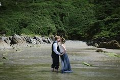 Kelly & Robin in the sea at Polhawn Fort 😍 one of my favourite places to get married! I love it when a couple go into the ocean x ⠀⠀⠀⠀⠀⠀⠀⠀⠀ ⠀⠀⠀⠀⠀⠀⠀⠀⠀ ⠀⠀⠀⠀⠀⠀⠀⠀⠀ ⠀⠀⠀⠀⠀⠀⠀⠀⠀ Places To Get Married, Just Married, Wedding Trends, Wedding Styles, Polhawn Fort, Wild And Free, Free Wedding, Newlyweds, True Love