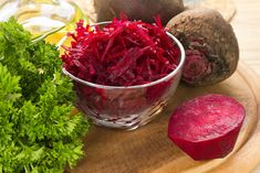 You may think you don't like beets, but maybe you've just never had them prepared in the right way. Try our recipes and add beets to your diet. Acid And Alkaline, Alkaline Foods, Home Canning, New Menu, Graham Crackers, Beets, Eating Well, Kimchi, Healthy Lifestyle