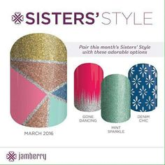 Only available in March - Shop 24/7 from my website - https://jammedupnailz.jamberrynails.com.au