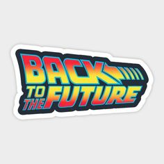 Stickers Cool, Red Bubble Stickers, Anime Stickers, Printable Stickers, Custom Stickers, Stickers Tumblr Png, Journal Stickers, Logo Sticker, Back To The Future