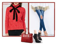"""""""Winter style!"""" by minka-989 ❤ liked on Polyvore featuring sammydress"""