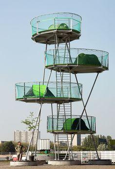 Urban Camping II / import.export Architecture