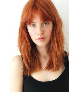 mooi rood is niet lelijk ♥ Red hair - Julia Johansen Hair Day, New Hair, Hair Inspo, Hair Inspiration, Medium Hair Styles, Short Hair Styles, Natural Red Hair, Red Hair Color, Ginger Hair