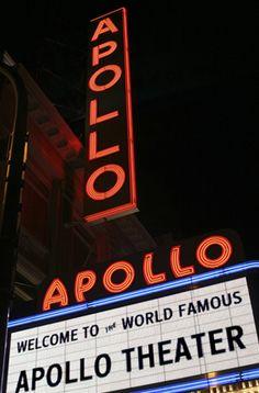 Apollo Theater...