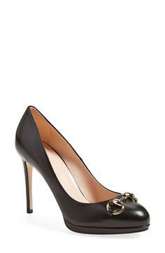 Gucci 'Gisele' Platform Pump (Women) available at #Nordstrom