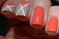 Love Varnish: OPI Live. Love. Carnaval and some tape nail art!