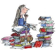 "quentin blake illustrations | Quentin Blake, ""Matilda"""