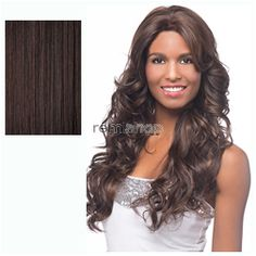 Vivica Fox Deeep Lace Front Passion  - Color 99J - Synthetic (Curling Iron Safe) Regular Lace Front Wig