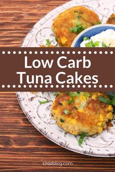 Are you looking for a Keto Friendly, low carb tuna cake recipe that does NOT have bread crumbs? If so, you MUST try these YUMMY Low Carb Tuna Cakes with Lemon Dijon Sauce recipe that's perfect for Keto or 17 Day Diet #lowcarb #lowcarbdinner #lowcarbmeals #lowcarbmealplanning #ketodiet #17daydiet #17daydietrecipes Sauce Recipes, Diet Recipes, Lunches And Dinners, Meals, 17 Day Diet, Tuna Cakes, Best Low Carb Recipes, Low Carb Meal Plan, Fish Dinner