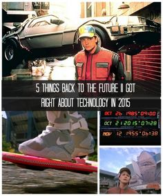 5 Things Back to the Future II Got Right about Technology in 2015 - you won't believe this... #spon #FutureTech