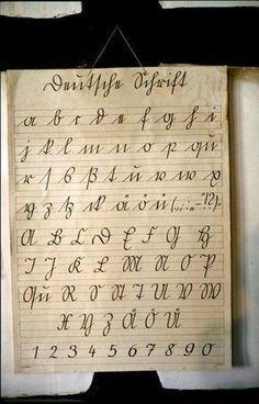 Sütterlin-Schrift