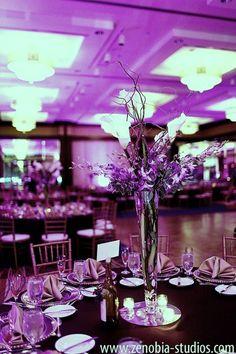 <3 Purple Uplighting