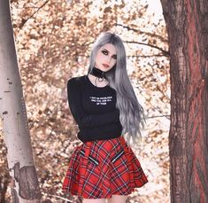 Model: @Dayana Crunk Outfit: Killstar Welcome to... - Gothic and Amazing