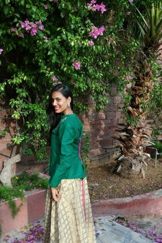 410d96dda99 Maxi skirt and Shirt- Sangeet Look   Fashion Inspiration   Indian outfits    Belle Indiana