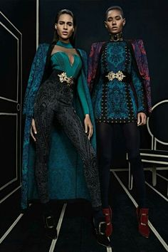 Paisley Done Right! Pre Fall 2016 Balmain