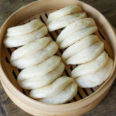 Steam Buns Recipe, Chinese Steam Bun Recipe, Steamed Buns, Asian Cooking, Korean Food, Chinese Food, Asian Recipes, Asian Desserts, Mexican Recipes