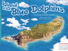 Island of the Blue Dolphin.  Image of the island.