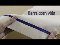 Como fazer barra com viés / Barra para tecidos grossos - YouTube Learn To Sew, How To Make, Sewing Lessons, Couture, Diy And Crafts, Sewing Patterns, Patches, Quilts, Learning