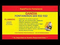 Fontaneros GANDIA 603 932 932 Baratos rápidos