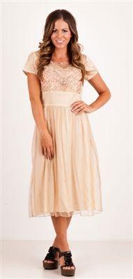 The Kiersten Modest Dress | NeeSee's Designs | Modest Dresses