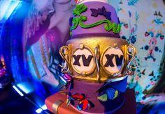 Bolo decorado - Festa Tomorrowland