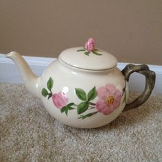 Desert Rose tea pot.... My mom's pattern