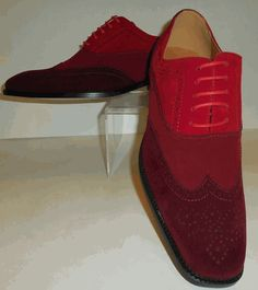 Mens Shades of Red Stylish Spectator Fashion Dress Shoes Antonio Cerrelli 6566 Men Dress, Dress Shoes, Shades Of Red, Vintage Looks, Oxford Shoes, Burgundy, Lace Up, Brand New, Stylish